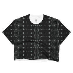 Shipibo Crop Top - Awaken to the One