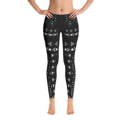 Shipibo Leggings - Cut & Sewn - Awaken to the One