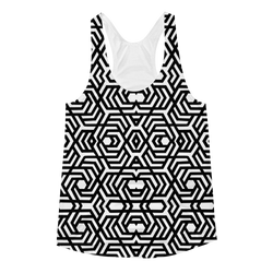 Arabesque Women's Racerback Tank - Awaken to the One
