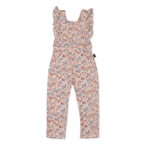 Bloom Ruffle Dungarees