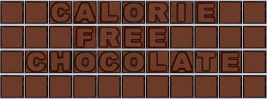Calorie free chocolate