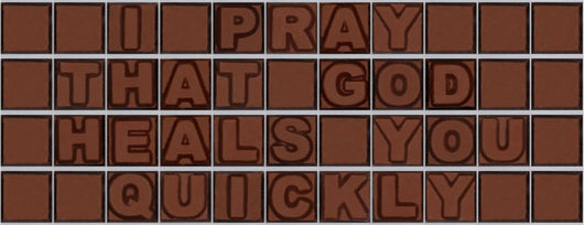 I pray that god heals you quickely