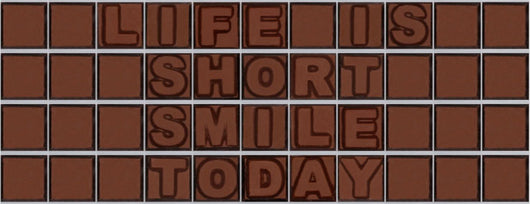 Life is short smile today