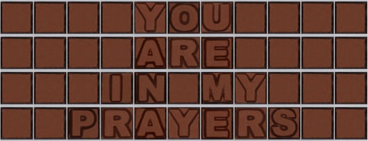 You are in my prayers