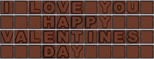I love you happy valentine's day