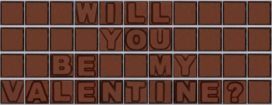 Will you be my valentine ?