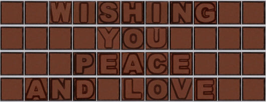 Wishing you peace and love