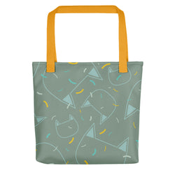 Scratch 'n' Purr Tote bag