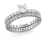 Diamond Eternity Wedding Band Ring 1.0ctw Wedding Ring 14kt. Gold