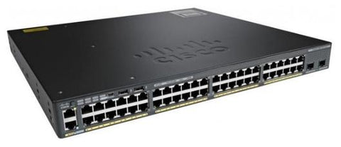 Cisco WS-C2960X-48LPD-L PoE Network Switch