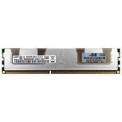 HP Genuine 16gb 4Rx4 PC3-8500R-07-11-AB1-D3 DDR3 1066mhz Server Ram PN: 500207-071