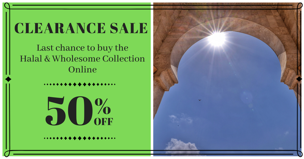 Final Inventory Clearance - 50% OFF through June