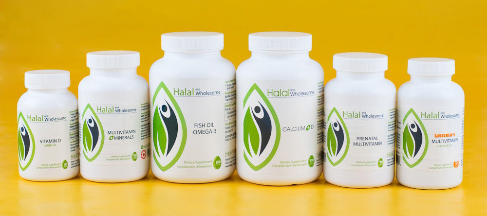 Halal Certified Vitamins | Halal Vitamins Collection | Halal Living SPC