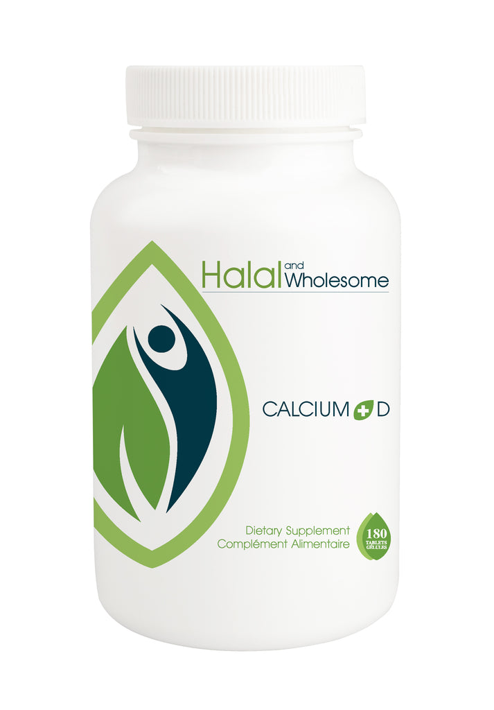 Halal Calcium Plus Vitamin D | Halal Calcium Supplements