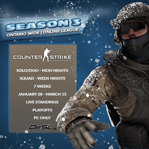 Season 3 - CS GO - Online League