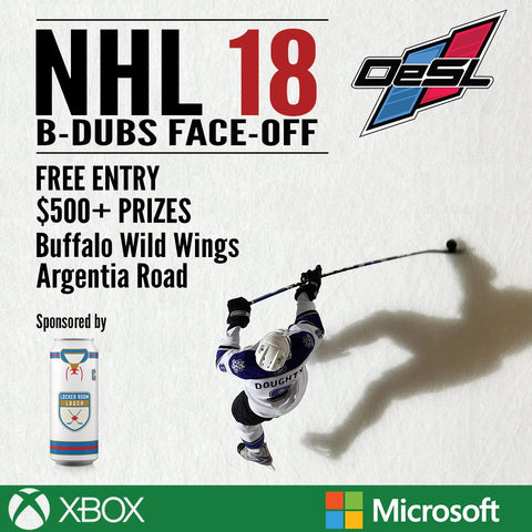 B-Dubs Face-Off - NHL '18 Tournament (April 2018)
