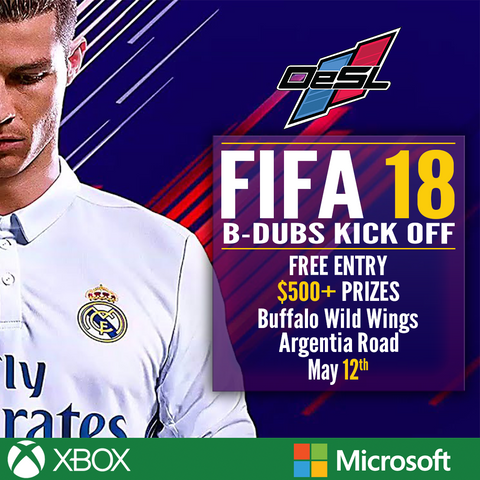 FIFA 18 Tournament - GTA - Mississauga - Buffalo Wild Wings