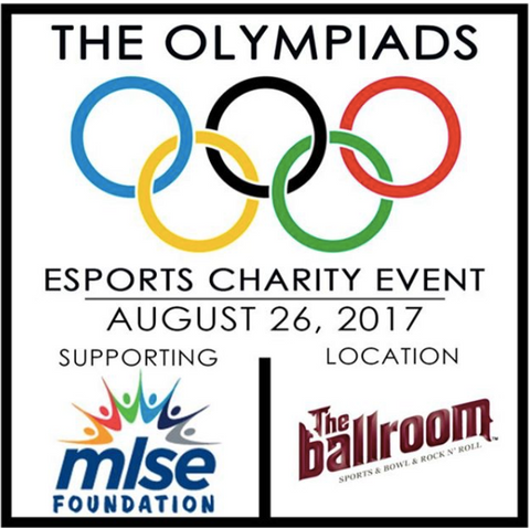 Olympiads Charity eSports Event (August 2017)