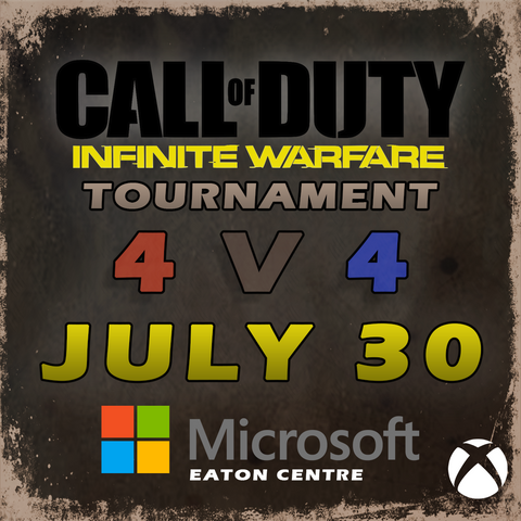 Call of Duty - Infinite Warfare Tournament (July 2017)
