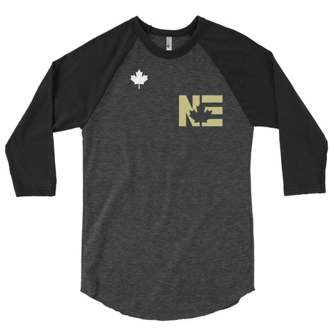 Northern Express - 3/4 sleeve raglan shirt