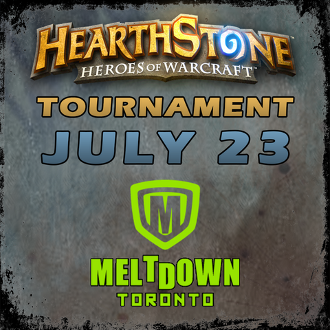 Hearthstone Tournament (July 2017)