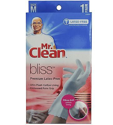 Mr. Clean Bliss Premium Latex-Free Gloves (1 Pair)