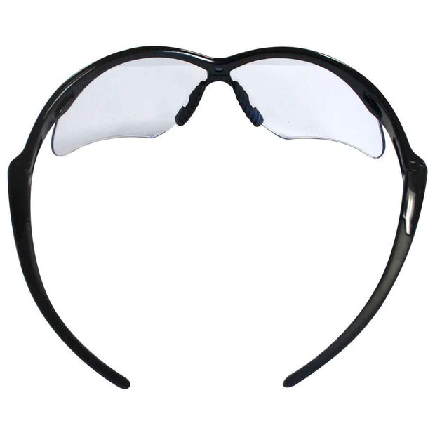Jackson Safety V30 25679 Nemesis Clear Anti Fog Lens Safety Eyewear with Black Frame