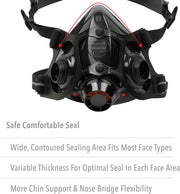 North 770030L Mask - Size Large