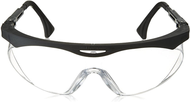 Uvex S1900X Skyper Safety Eyewear, Black Frame, Clear UV Extreme Anti-Fog Lens