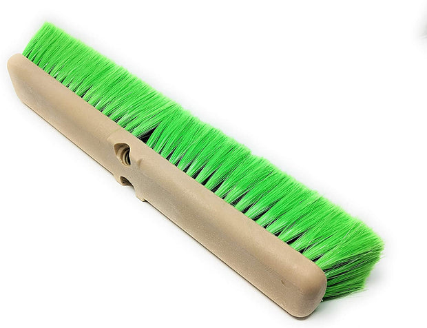 Teravan Green Obround Very Soft Flow Through Brush for Washing Vehicles and Boats ( 8,10,14,18 Inch)