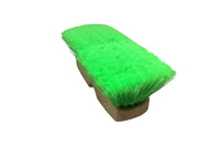 Guttermaster Green 8 Inch Oblong Very Soft Flow Through Brush for Vehicles and Boats
