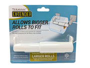 Teravan Standard Extender for Extra Large Toilet Paper Rolls | Extend The Size Of Your Tissue Paper Roll Holders | Easy Installation