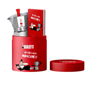 Bialetti Set Moka Lovers, Red