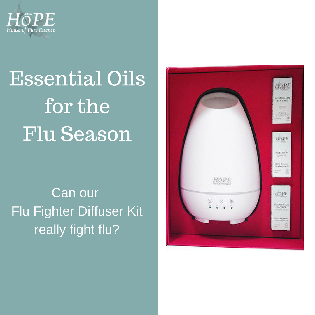 Can Our Flu Fighter Diffuser Kit Really Fight Flu? - House of Pure ...