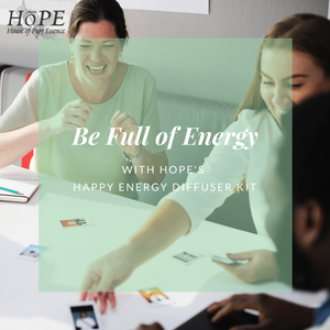 HoPE Happy Energy Diffuser Kit