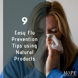 9 Easy Flu Prevention Tips using Natural Products