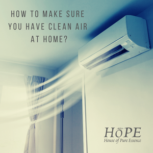 Air conditioner with clean air - HoPE