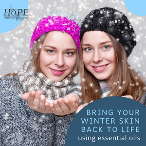 Source: depositphotos. Winter skin treatments using essential oils