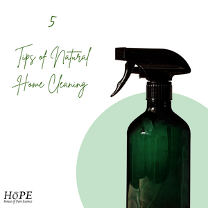 Take Advantage of Natural Home Cleaning - Read These 5 Tips