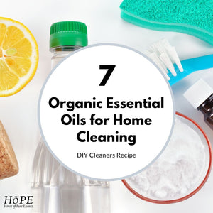 Top 7 Organic Essential Oils for Home Cleaning: DIY Cleaners Recipe