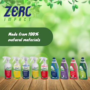 What is Zero Impact All Natural Household Cleaners?