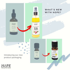 HoPE's Newest Packaging