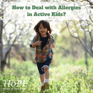 Preventive Guides for Allergies in Active Kids by House of Pureessence