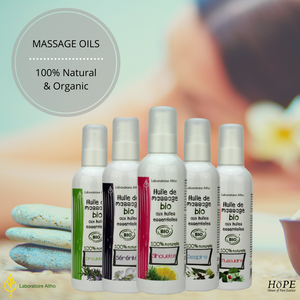 Why use Laboratoire Altho Organic Massage Oils?