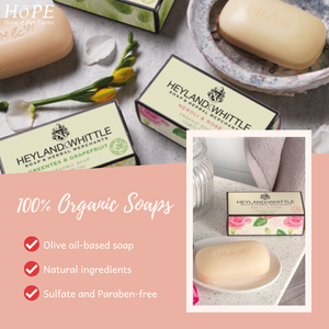 Why use Heyland and Whittle Natural Soap?