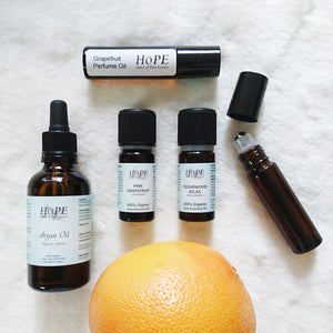 Grapefruit Perfume Recipe - 100% Organic - only 3 ingredients