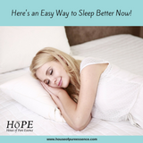 Here's an Easy Way to Sleep Better Now!