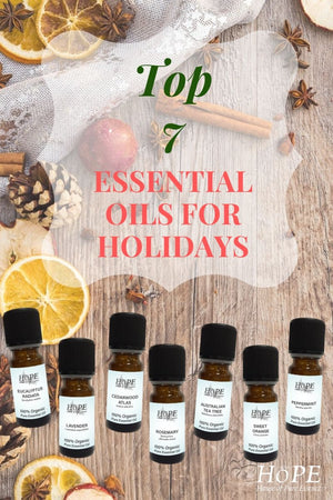 Top 7 Essential Oils for Holidays