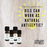 Did You Know That Oils Can work As a Natural Antiseptic?
