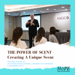 Creating A Unique Scent - Richard Klitsie at the HKGCC